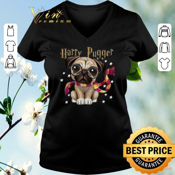 Hot Harry Potter Harry Pugger Pug dog Mashup shirt