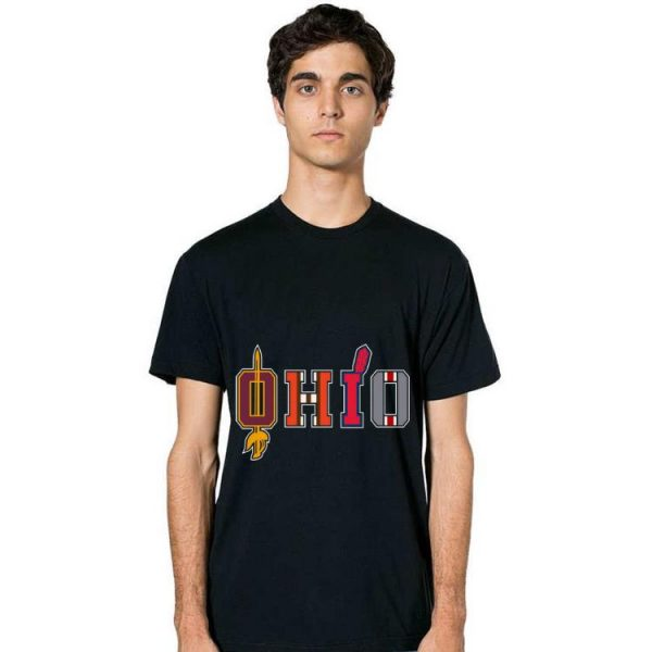 Hot OHIO Sports Fans Cleveland And Columbus shirt