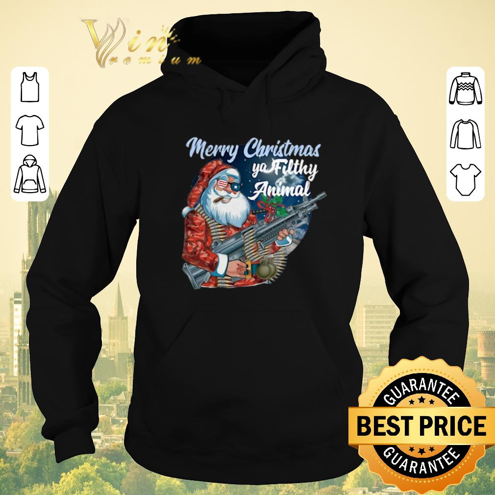 Hot Santa Claus Merry Christmas ya filthy animal shirt sweater 4 - Hot Santa Claus Merry Christmas ya filthy animal shirt sweater