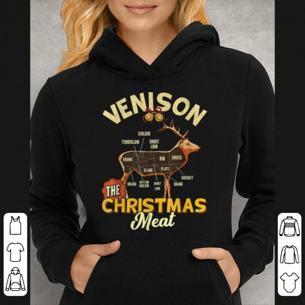 Hot Venison Meat Chart The Christmas Meat Deer Hunter sweater