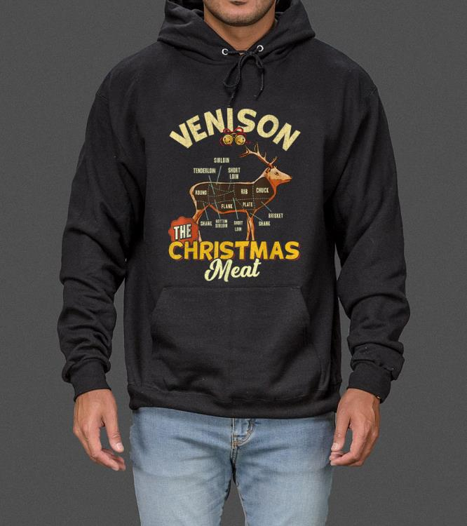 Hot Venison Meat Chart The Christmas Meat Deer Hunter sweater 4 - Hot Venison Meat Chart The Christmas Meat Deer Hunter sweater