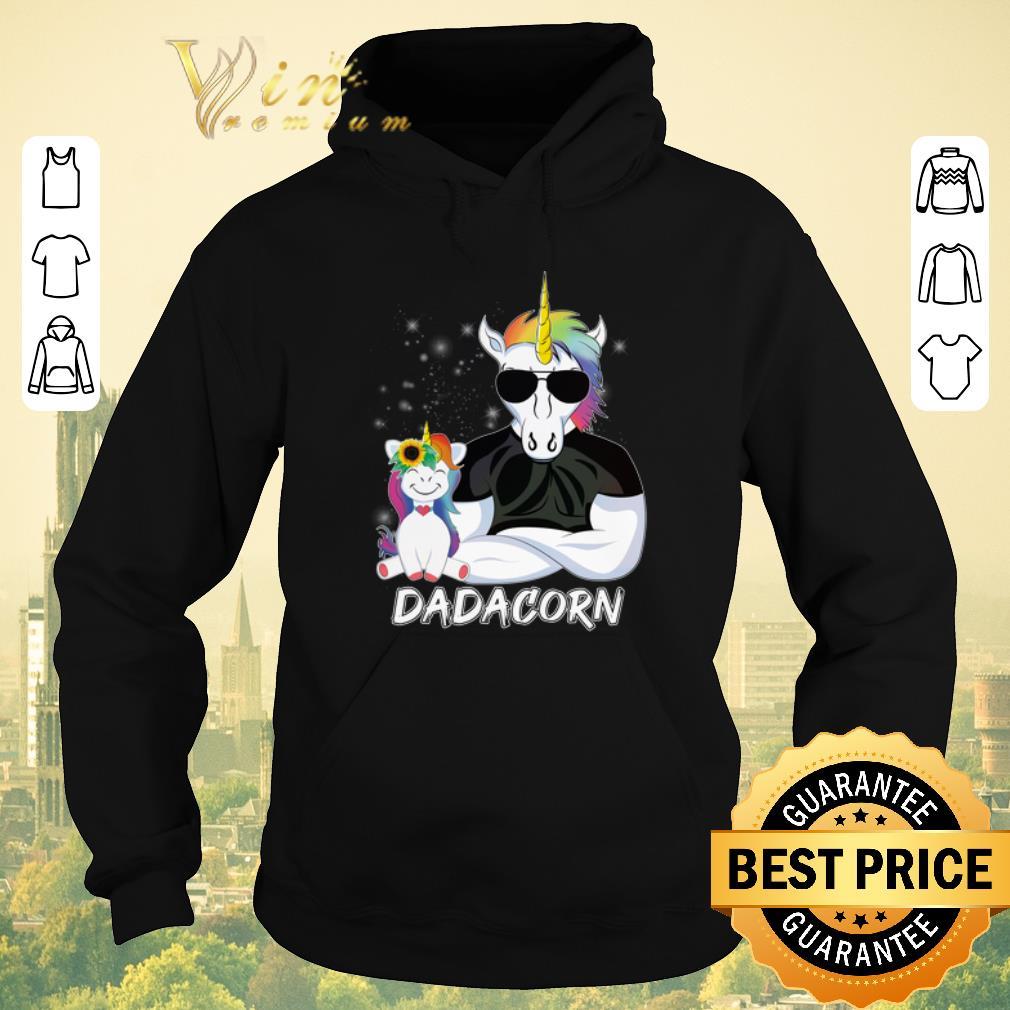 Nice Christmas Dadacorn Unicorn Dad And Daughter shirt 4 - Nice Christmas Dadacorn Unicorn Dad And Daughter shirt