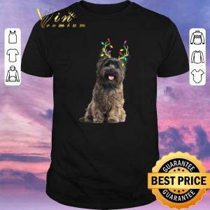Nice Christmas Light Cairn Terrier Reindeer shirt