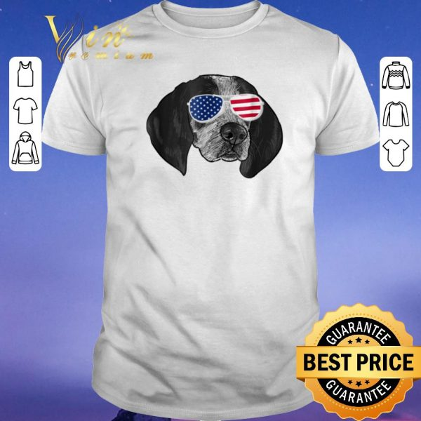 Nice Coonhound American glasses shirt sweater