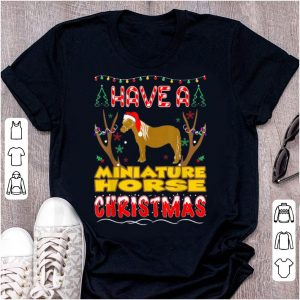 Nice Have A Miniature Horse Christmas Pet Lovers Gift sweater