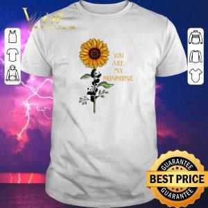 Nice Sunflower panda you are my sunshine shirt sweater