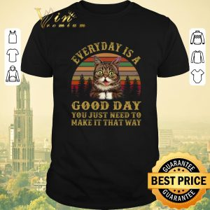 Nice Sunset Lil Bub everyday is a good day you just need to make it shirt