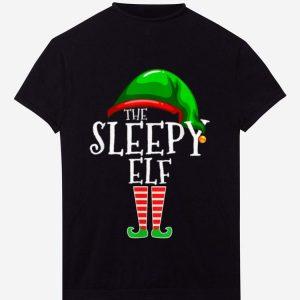 Nice The Sleepy Elf Family Matching Group Christmas Gift Funny sweater