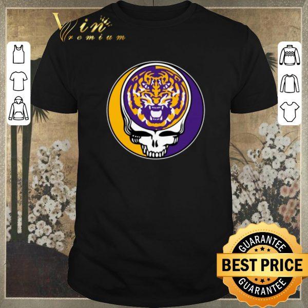 Nice lsu tigers grateful dead logo shirt sweater