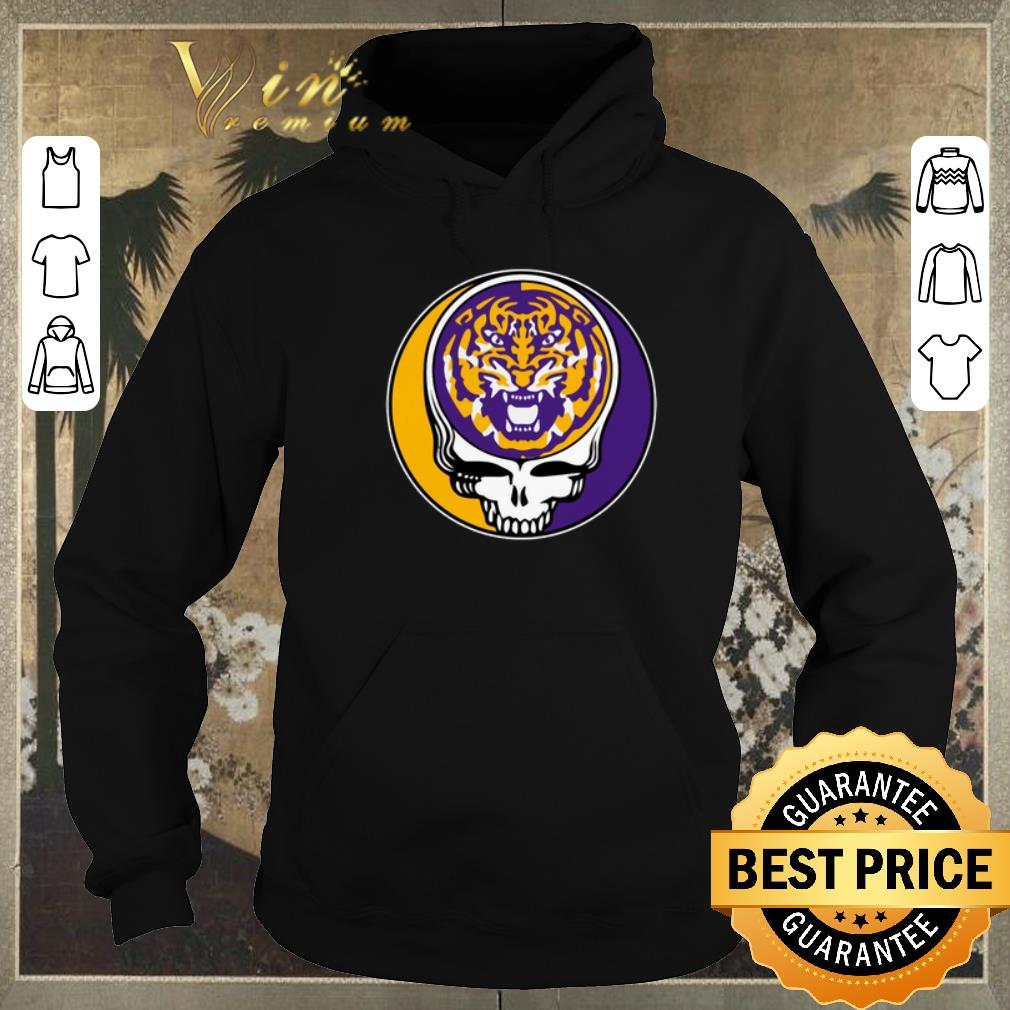 Nice lsu tigers grateful dead logo shirt sweater 4 - Nice lsu tigers grateful dead logo shirt sweater