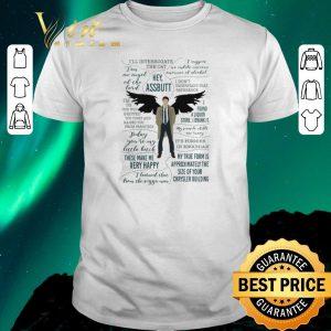 Official Castiel Supernatural Ill Interrogate The Cat Hey Assbutt shirt sweater