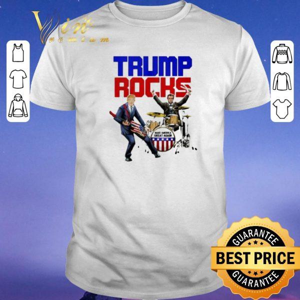 Official Donald Trump Rocks make America great again shirt sweater