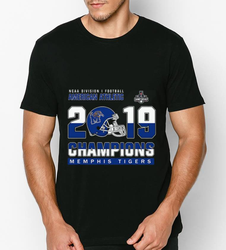 Official Memphis Tigers Division Athletic coast 2019 champions shirt 4 1 - Official Memphis Tigers Division Athletic coast 2019 champions shirt