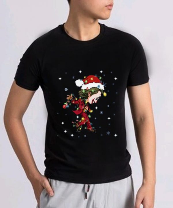 Official Santa Joker Dancing light christmas shirt