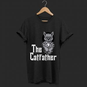 Official The Catfather Godfather And Cat Lovers shirt