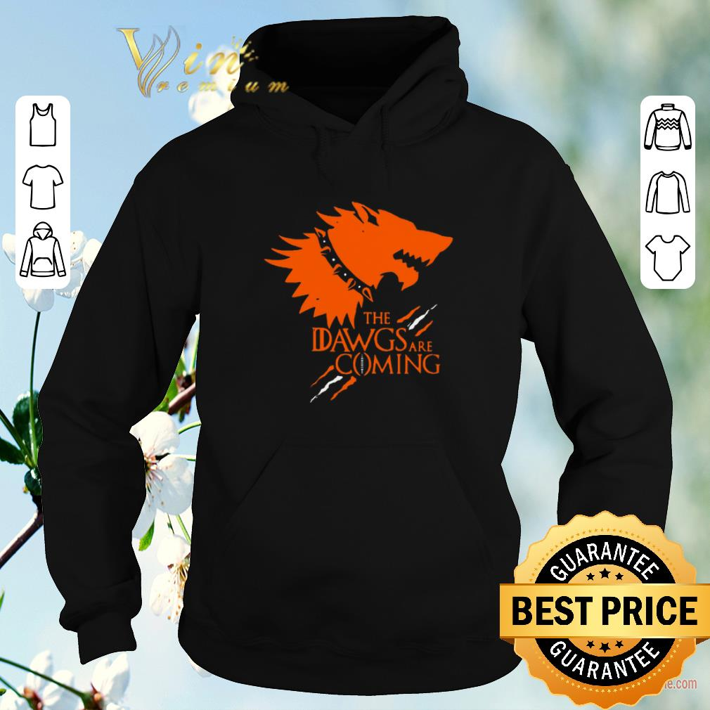 Official The Dawgs Are Coming Cleveland Browns shirt sweater 4 - Official The Dawgs Are Coming Cleveland Browns shirt sweater
