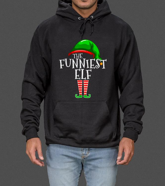 Official The Funniest Elf Family Matching Group Christmas Gift Funny sweater 4 - Official The Funniest Elf Family Matching Group Christmas Gift Funny sweater