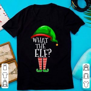Official What The Elf Group Matching Family Christmas Gift Outfit sweater