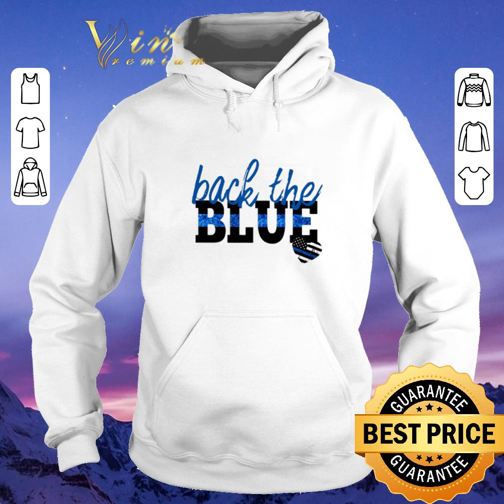 Official back the blue Thin Blue Line heart shirt sweater 4 - Official back the blue Thin Blue Line heart shirt sweater