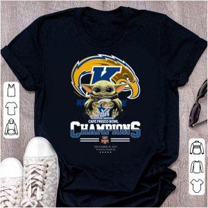 Original Baby Yoda Hug Kent State 2019 Champions shirt