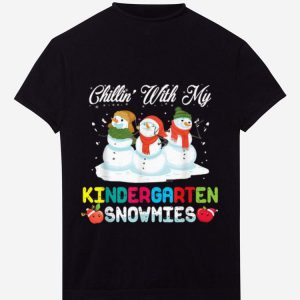Original Chillin' With My Kindergarten Snowmies Funny Christmas Gift sweater