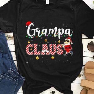 Original Cute Christmas Grampa Santa Hat Gift Matching Family Xmas sweater