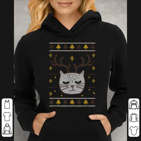 Original Ugly Sweater Cat Christmas Meowy Catmas sweater