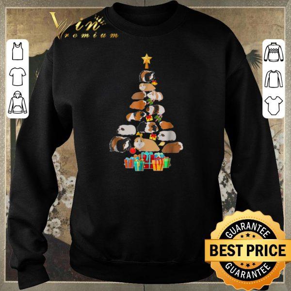 Original christmas tree guinea pig pajamas shirt