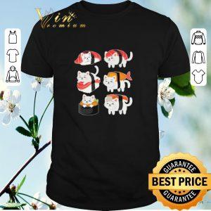 Premium Cats Mashup Sushi shirt sweater