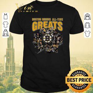 Premium signatures Boston Bruins all time greats legend shirt