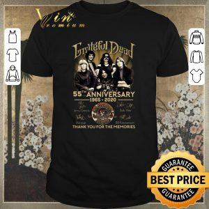 Premium signatures grateful dead 55th anniversary 1965 2020 shirt