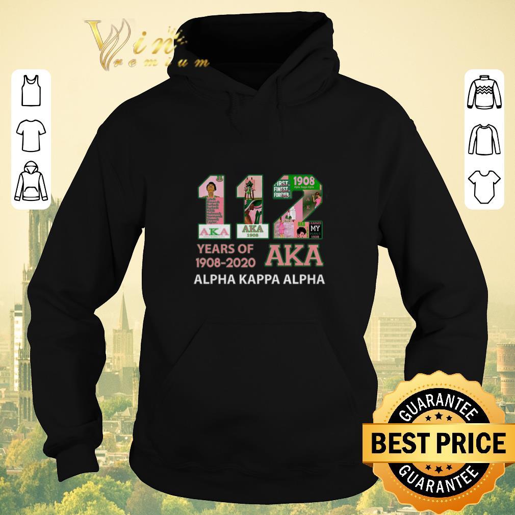 Pretty 112 Years of 1908 2020 Alpha Kappa Alpha shirt sweater 4 - Pretty 112 Years of 1908 2020 Alpha Kappa Alpha shirt sweater