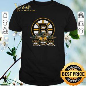 Pretty Baby Yoda Boston Bruins shirt sweater