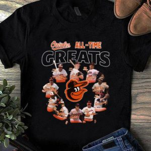 Pretty Baltimore Orioles all time great players signatures shirt