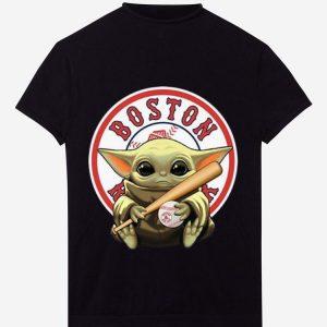 Pretty Baseball Baby Yoda Boston Red Sox shirt