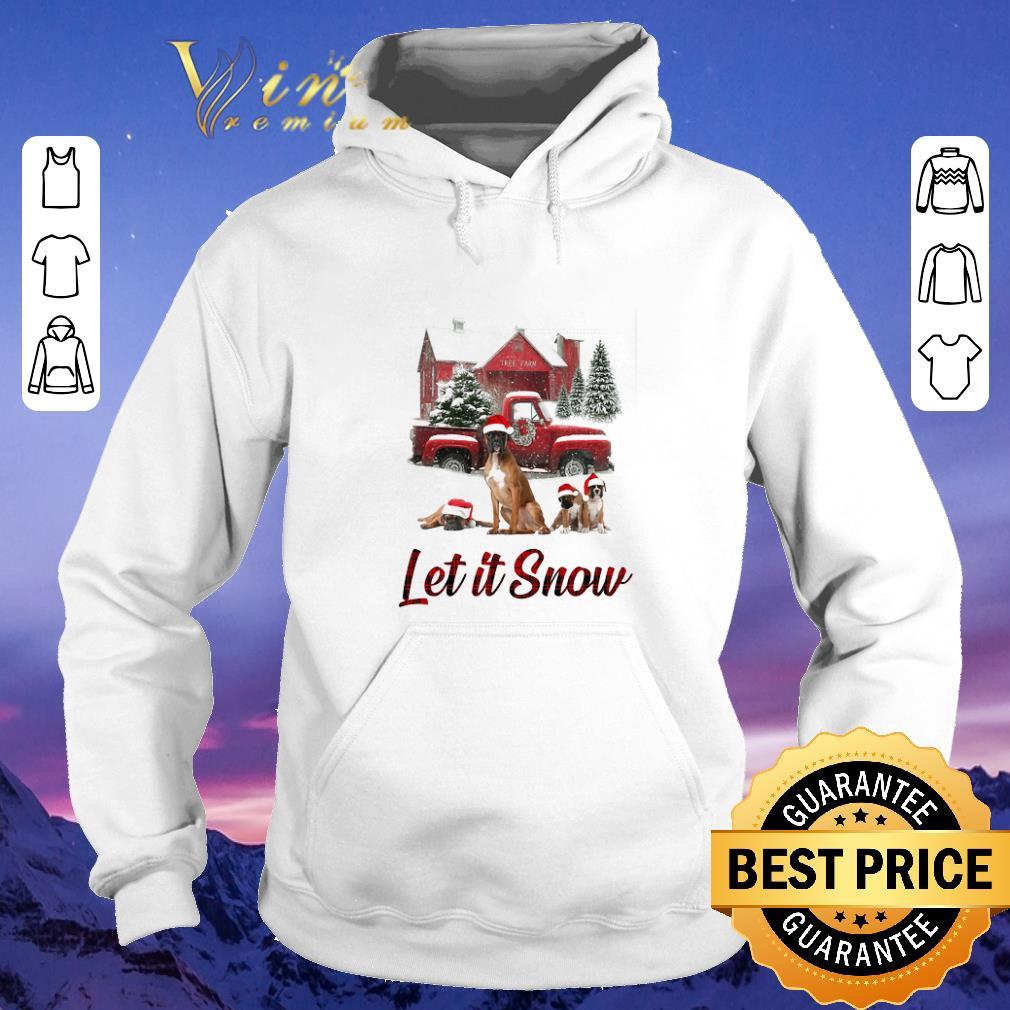Pretty Christmas Santa Boxer Let It Snow shirt 4 - Pretty Christmas Santa Boxer Let It Snow shirt