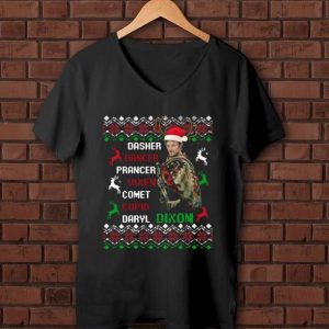 Pretty Darryl Dixon Walking Dead Christmas shirt