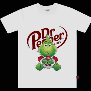 Pretty Dr Pepper St 1885 The Grinch Merry Christmas shirt