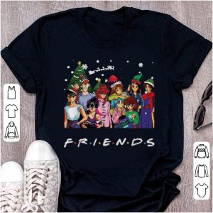 Pretty Ghost Fighter Characters Friends Merry Christmas shirt