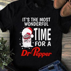 Pretty It's the most wonderful time of a Dr Pepper shirt