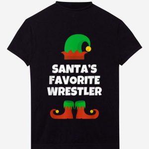 Pretty Santa's Favorite Wrestler Christmas Gift Wrestling sweater