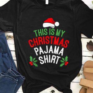 Pretty This is My Christmas Pajama Santa Hat Funny Xmas Gift sweater