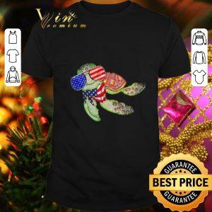 Pretty Turtle US Flag Glass shirt