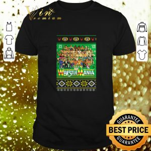 Pretty WrestleMania 3D ugly Christmas sweater
