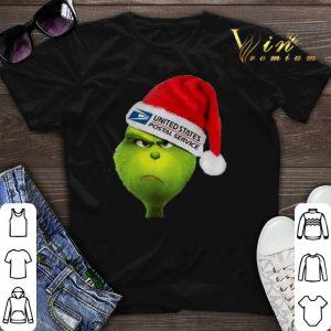 Santa Grinch United States Postal Service shirt sweater