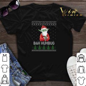 Santa Yoda Bah Humbug Ugly Christmas shirt sweater