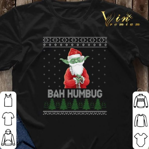 Santa Yoda Bah Humbug Ugly Christmas shirt sweater