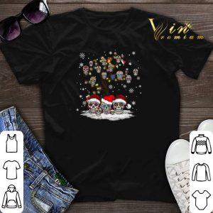 Sugar skull tree Christmas shirt sweater