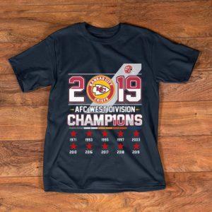 Top 2019 AFC West Division Champions Kansas City Chiefs shirt