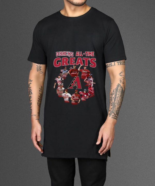 Top Arizona Diamondbacks all time great players signatures shirt